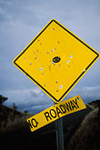 yellow stock photography | Hawaii, Maui, No Roadway sign, image id 4-47-2