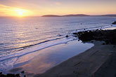 pacific ocean coastline stock photography | California, Bodega Bay, Sunset over Bodega Head, image id 4-561-17