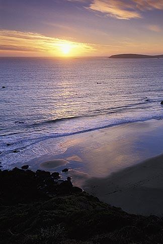 image 4-561-19 California, Bodega Bay, Sunset over Bodega Head