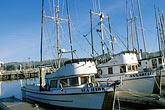 dark stock photography | California, Bodega Bay, Fishing boats, Bodega Harbor, image id 4-561-60