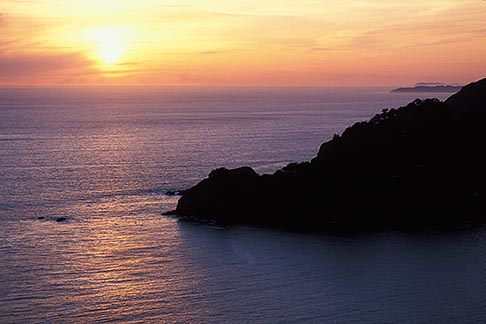 image 4-701-32 California, Marin County, Muir Beach, Sunset