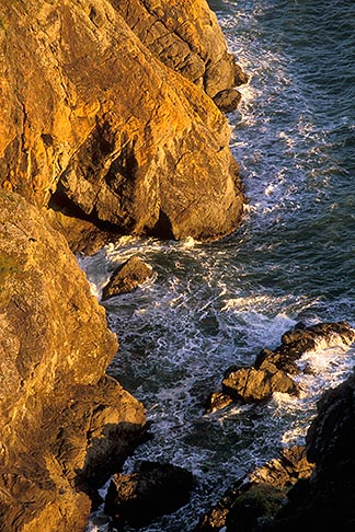 image 4-701-55 California, Marin County, Muir Beach coastline, rocky cliffs