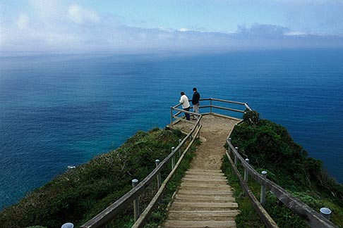 image 4-702-21 California, Marin County, Muir Beach Overlook, GGNRA