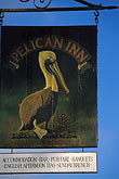 signage stock photography | California, Marin County, Pelican Inn, Muir Beach, image id 4-702-77