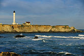 blue sky stock photography | California, Point Arena, Point Arena Lighthouse, image id 4-795-23