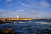 blue sky stock photography | California, Point Arena, Point Arena Lighthouse, image id 4-795-47