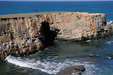 rocky cliffs stock photography | California, Point Arena, Coastal bluffs, image id 4-795-61