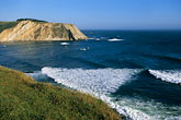 wave stock photography | California, Point Arena, Coastal bluffs and Arena Cove, image id 4-796-8