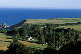 inn stock photography | California, Mendocino County, Manchester, Inn at Victorian Gardens and coastline, image id 4-797-24
