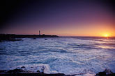 pacific ocean at sunset stock photography | California, Point Arena, Point Arena Lighthouse at sunset, image id 4-798-46