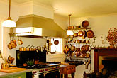 cuisine stock photography | California, Mendocino County, Manchester, Inn at Victorian Gardens, kitchen, image id 4-800-6