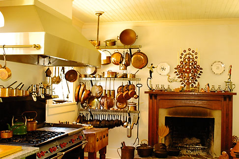 image 4-800-7 California, Mendocino County, Manchester, Inn at Victorian Gardens, kitchen
