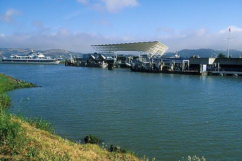 image 4-840-64 California, Marin County, Larkspur Landing, Ferry Terminal