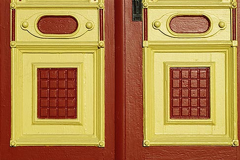 image 4-87-9 California, Benicia, Door detail