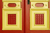 red door detail stock photography | California, Benicia, Door detail, image id 4-87-9