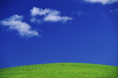 image 4-96-28 California, Benicia, Clouds and hillside