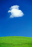 sky stock photography | California, Benicia, Hillside and clouds, image id 4-96-33