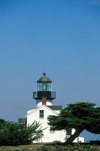 image 4-986-2 California, Pacific Grove, Point Pinos Lighthouse