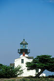 tower stock photography | California, Pacific Grove, Point Pinos Lighthouse, image id 4-986-2