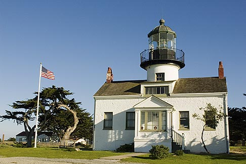image 4-990-7782 California, Pacific Grove, Point Pinos Lighthouse