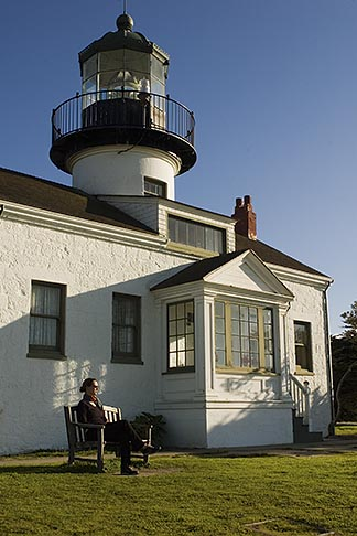 image 4-990-7792 California, Pacific Grove, Point Pinos Lighthouse
