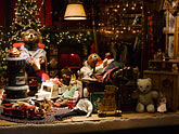 shop window stock photography | Still Life, Shop window, Christmas decorations, image id 4-992-114