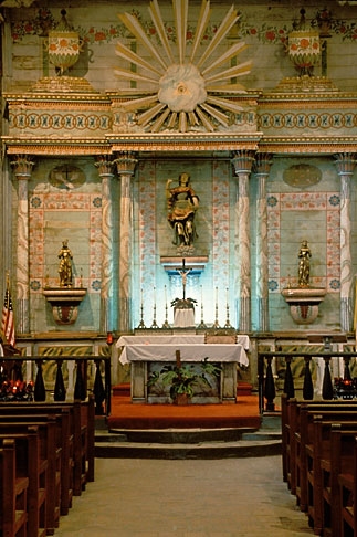 image 5-118-26 California, Missions, Altar, Mission San Miguel Arcangel
