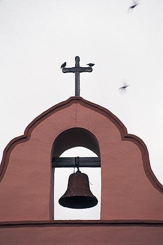 image 5-121-33 California, Missions, Bell Tower, La Purisima Mission