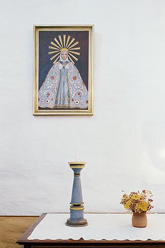 image 5-123-2 California, Missions, Devotional altar, La Purisima Mission, 1787