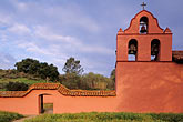 horizontal stock photography | California, Missions, Bell Tower, La Purisima Mission, image id 5-124-24