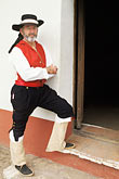 costume stock photography | California, Missions, Spanish soldier, La Purisima Mission State Park, image id 5-134-25
