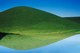 reflection stock photography | California, Contra Costa, Hillside & reflection, Empire Mine Road, image id 5-150-11