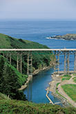 sea stock photography | California, Mendocino County, Albion River Bridge, image id 5-640-79