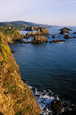 sea stock photography | California, Mendocino County, Coastal bluffs near Elk, image id 5-641-81