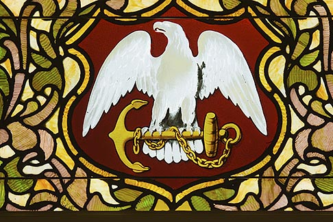 image 5-780-569 Americana, Military crest with eagle