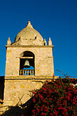 bell stock photography | California, Carmel, Carmel Mission Church, tower, image id 5-810-1493