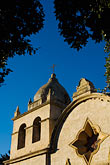 tower stock photography | California, Carmel, Carmel Mission Church, image id 5-810-1508