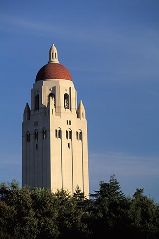 image 6-134-11 California, Palo Alto, Stanford University, Hoover Tower
