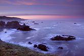 dusk stock photography | California, Sonoma County, Sonoma Coastline and Pacific Ocean, image id 6-145-10