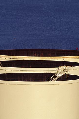 image 6-156-7 California, Richmond, Refinery tanks