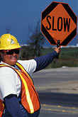 cypress freeway stock photography | California, Oakland, Construction worker, Cypress freeway, image id 6-214-26