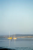calm stock photography | California, San Luis Obispo County, Morro Bay harbor, sailboats, image id 6-315-3