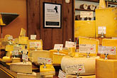 horizontal stock photography | California, Point Reyes, Cowgirl Creamery, Ann Grymes shopping for cheese, image id 6-420-5