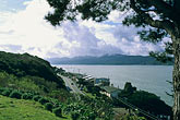 hill stock photography | California, Tomales Bay, The town of Marshall on Highway One, image id 6-420-57