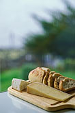 sonoma stock photography | California, Marshall, Sonoma bread and cheeses, image id 6-420-65