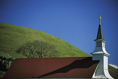 image 6-423-1 California, Marin County, Nicasio, Saint Marys Catholic Church