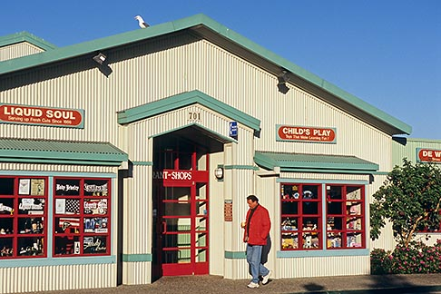 image 6-470-16 California, Morro Bay, Shops, Embarcadero