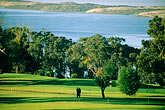 sea stock photography | California, Morro Bay, Morro Bay State Park , Golf Course, image id 6-473-28