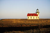 seashore stock photography | California, Mendocino County, Point Cabrillo Lighthouse, image id 6-480-19