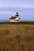 sea stock photography | California, Mendocino County, Point Cabrillo Lighthouse, image id 6-480-23